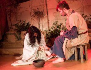 Jesus tvättar lärjungens fötter 2014 04 20